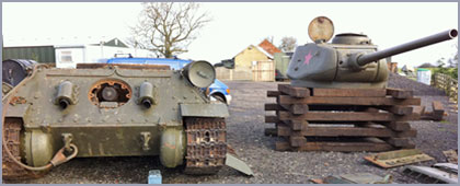 Military Vehicle Restoration