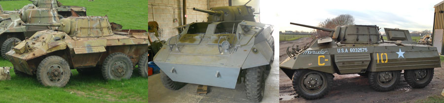 M8 Armoured Car Restoration Project