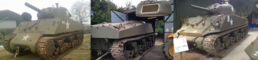 Sherman Tank Restoration Project